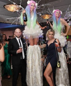Champagne/Canape Host/esses | Sacred Circus